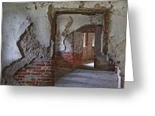 Fort Warren 7155 Greeting Card
