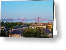 Forth Bridge, Scotland Greeting Card