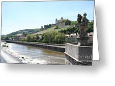 Fortress Marienberg - Wuerzburg - Germany Greeting Card