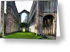 Fountains Abbey 7 Greeting Card