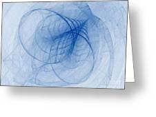 Fractal Image Greeting Card