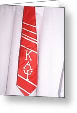 Fraternity Tie Greeting Card