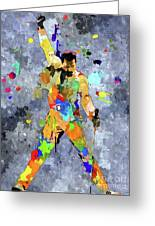 Freddie Mercury Greeting Card