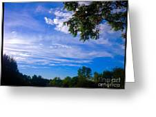 Frederick Maryland Countryside Greeting Card