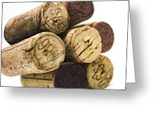 French Corks Greeting Card
