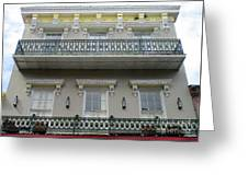 French Quarter 15 Greeting Card