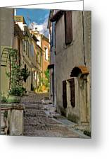 French Scenes Greeting Card