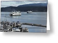 Friday Harbor Greeting Card