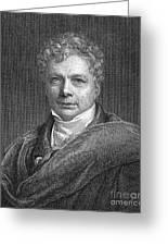 Friedrich W.j. Von Schelling Greeting Card by Granger