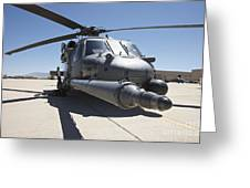 Front View Of A Hh-60g Pave Hawk Greeting Card