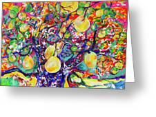 Fruit Full Vibrations Greeting Card