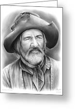 Gabby Hayes Greeting Card
