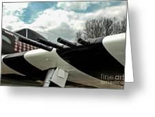Gabby's P-47 Greeting Card