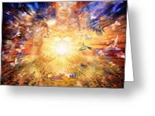Gaia's Vibe Greeting Card