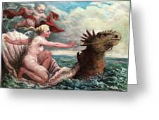 Galatea In Egress Greeting Card