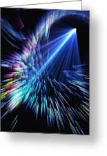 Gamma Ray Burst 2 Greeting Card