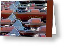 Gar Wood Classics Greeting Card