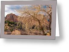 Garden Of The Gods Entrance Greeting Card