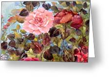 Garden Party/portion  Greeting Card