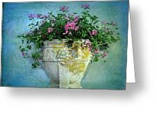 Garden Planter Greeting Card