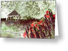 Gazebo Scenic Greeting Card