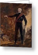 General Gebhard Leberecht Von Blucher Greeting Card