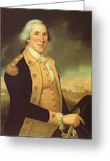 General George Washington Greeting Card
