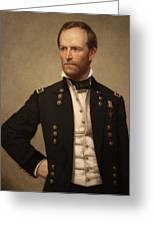 General William Tecumseh Sherman Greeting Card
