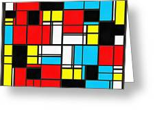Geometrics Greeting Card