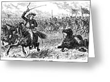 George Custer (1839-1876) Greeting Card