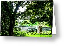 Gettysburg National Cemetery Greeting Card