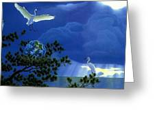 Giver Of Life 2 William Schimmel Greeting Card
