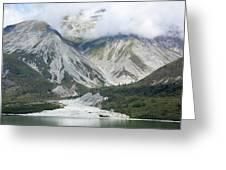 Glacier Bay Landscape Greeting Card