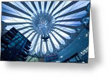 Glass Sky Greeting Card