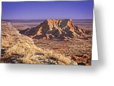 Gloss Mountains Greeting Card
