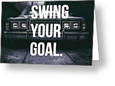 Goal Greeting Card