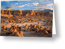 Goblin Valley State Park Utah Greeting Card