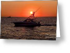 Going Fishing - Silhouette Greeting Card