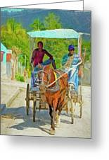 Going To Market 2 Greeting Card