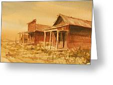 Gold Point Nevada Greeting Card