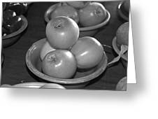 Golden Apples Greeting Card