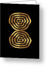 Golden Waves Hightide Natures Abstract Colorful Signature Navinjoshi Fineartartamerica Pixels Greeting Card