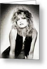 Goldie Hawn, Actress Greeting Card