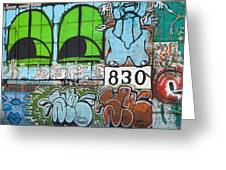 Graffiti #5781 Greeting Card