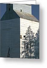 Grain Elevator In Troy Idaho Greeting Card
