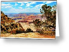 Grand Canyon Scenic Greeting Card