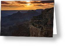 Grand Canyon Sunset  Greeting Card