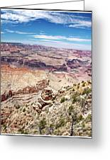 Grand Canyon View From The South Rim, Arizona Greeting Card