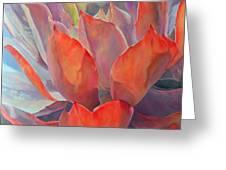 Grand Succulent Greeting Card