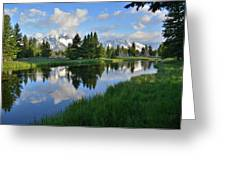 Grand Teton Reflection Greeting Card